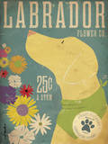 Labrador Flower Co. Poster by Stephen Fowler