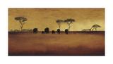 Serengeti II Giclée-tryk af Tandi Venter
