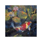Wassergarten I Giclée-Druck von Leif Ostlund