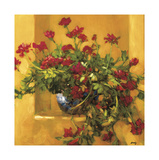 Ivy Geraniums Giclée-tryk af Philip Craig