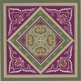 Sojourn Tile IV Poster par Paula Scaletta