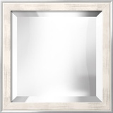 METRO White Mirror Decorative Mirror