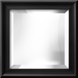 RAMINO II Black Mirror Wall Mirror