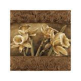 Golden Daffodils I Giclee-trykk av Linda Thompson