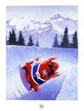 Bobsled Collectable Print by Frank Steiner