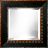 HIGHLAND Black Wide Mirror Wall Mirror