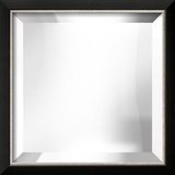 Basel Black and Silver Mirror Decorative Mirror