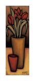 Tulipas Vermelhas Giclee Print by H. Alves