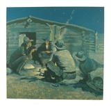 Last Painting Wydruki dla kolekcjonerów autor Frederic Sackrider Remington