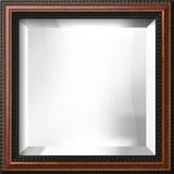 VIENNA Walnut Mirror Wall Mirror