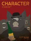 Character (Animal Farm) - Element of a Novel Plakater af Christopher Rice