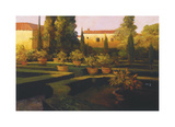 Verona Garden Giclee Print by Philip Craig