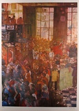 Chicago Board of Trade Collectable Print by Bernie Fuchs