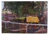Belmont Paddock Edition limitée par Bernie Fuchs