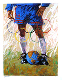 Where the World Comes to Play Collectable Print by Aldo Luongo