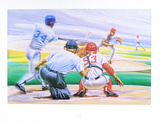 Baseball Collectable Print by Manny Morales