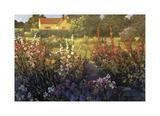 Jardin de ferme Reproduction procédé giclée par Philip Craig