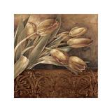 Copper Tulips II Giclee Print by Linda Thompson