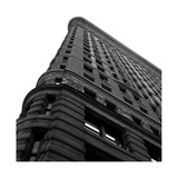 Flat Iron From Below Giclee Print by Philip Craig