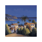 Mediterranean Morning Shadows I Giclee Print by David Short