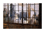 Window Over Empire State Giclee Print by Marti Bofarull