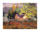 Rural Vista II Giclee Print by Nancy Lund