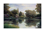 Tranquil Waters Giclee Print by David Howells