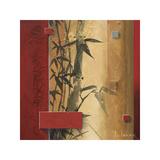 Bamboo Garden Giclée-tryk af Don Li-Leger