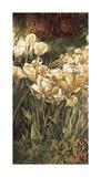 Summer Garden I Giclee Print by Linda Thompson