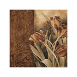 Copper Tulips I Giclee Print by Linda Thompson