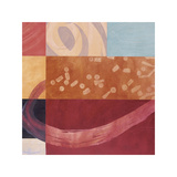 Synergistic Interchange I Giclee Print by Leslie Emery