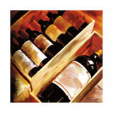 The Wine Collection I Giclee Print by Tandi Venter