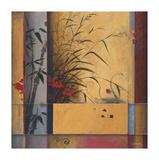 Partición de bambú Lámina giclée por Don Li-Leger