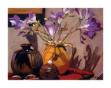 Freesia Floral Giclee Print by Philip Craig