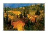 Hillside - Tuscany Giclee Print by Philip Craig