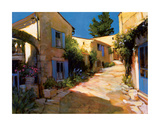 Village in Provence Giclee Print by Philip Craig