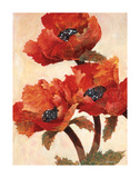 Poppies I Giclee Print by Joyce H. Kamikura