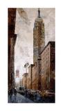 Skyscraper I - Empire State Building Giclee Print by Marti Bofarull