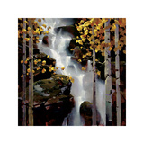 Waterfall Giclee Print by Michael O'Toole
