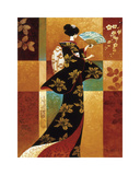 Sakura Giclee Print by Keith Mallett