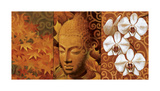Buddha Panel II Giclee Print by Keith Mallett
