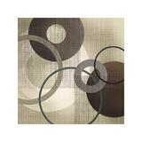 Hoops 'n' Loops I Giclee Print by Tandi Venter
