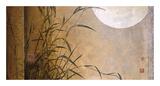 Lakeside Moonrise Giclée-tryk af Don Li-Leger