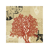 Coral Impressions IV Giclee Print by Tandi Venter
