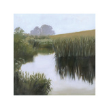 Morning Creekside Giclee Print by Megan Lightell