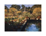 Boboli Gardens, Florence Giclee Print by Philip Craig