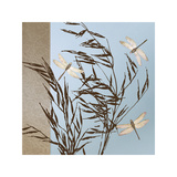 Dragonflies Giclee Print by Caroline Gold