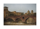 Ponte Pietra, Verona Giclee Print by Heather Jacks