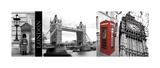 A Glimpse of London Giclee Print by Jeff Maihara