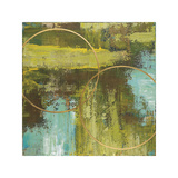 Aller Chartreuse Giclee Print by Patrick St. Germain
